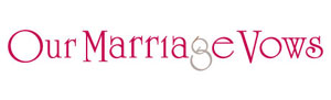 Logo Our Marriage Vows